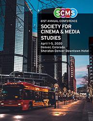2020 Denver SCMS Conference program cover