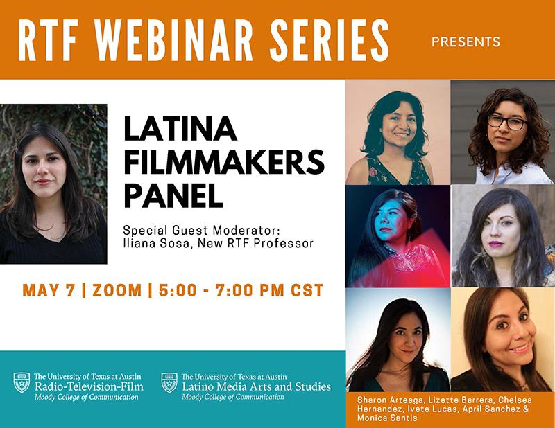 RTF Webinar Series presents Latina Filmmaker Panel