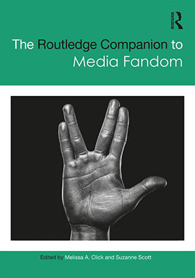 Cover art Routledge Anthology of Media Fandom