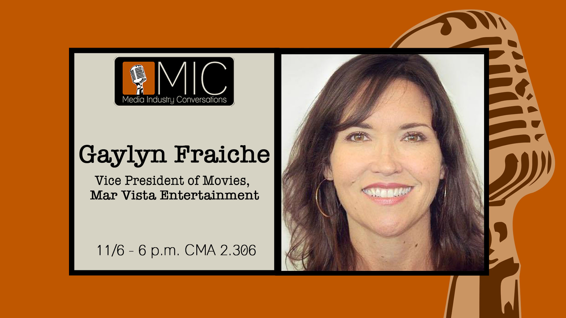 Gaylyn Fraiche Media Industry Conversation Nov 6