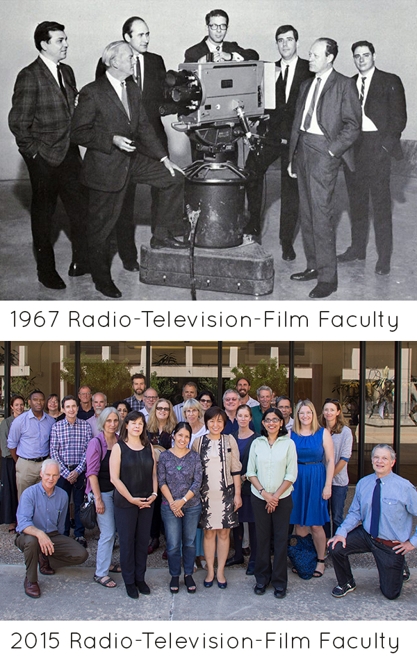RTF faculty then and now